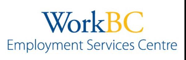 Work BC Employment Service Centre